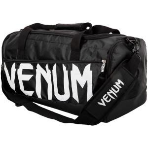 Сумка Venum Sparring Sport Bag Black White