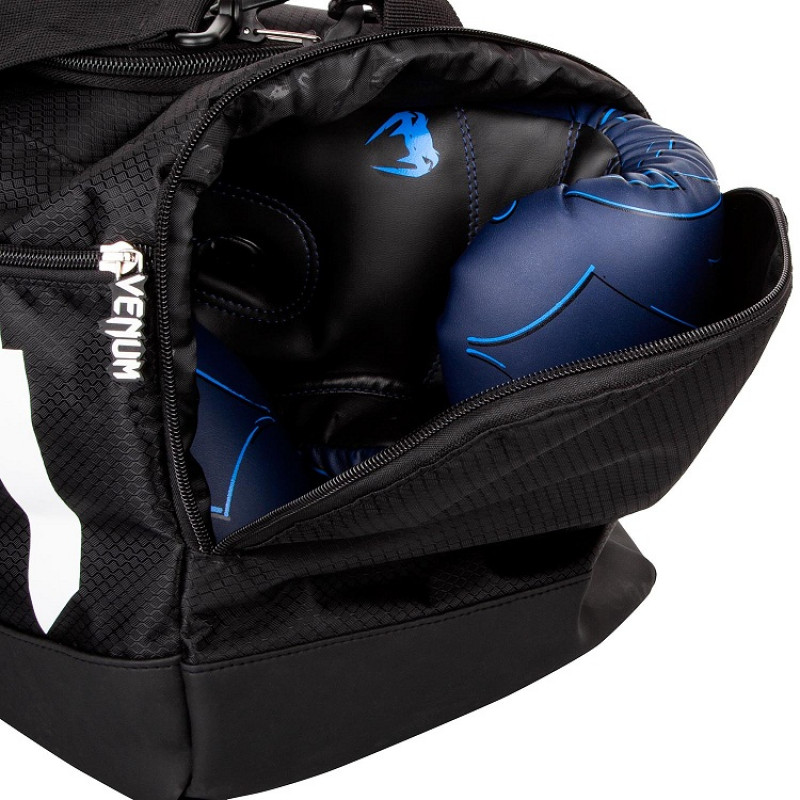 Сумка Venum Sparring Sport Bag Black White (01174) фото 3