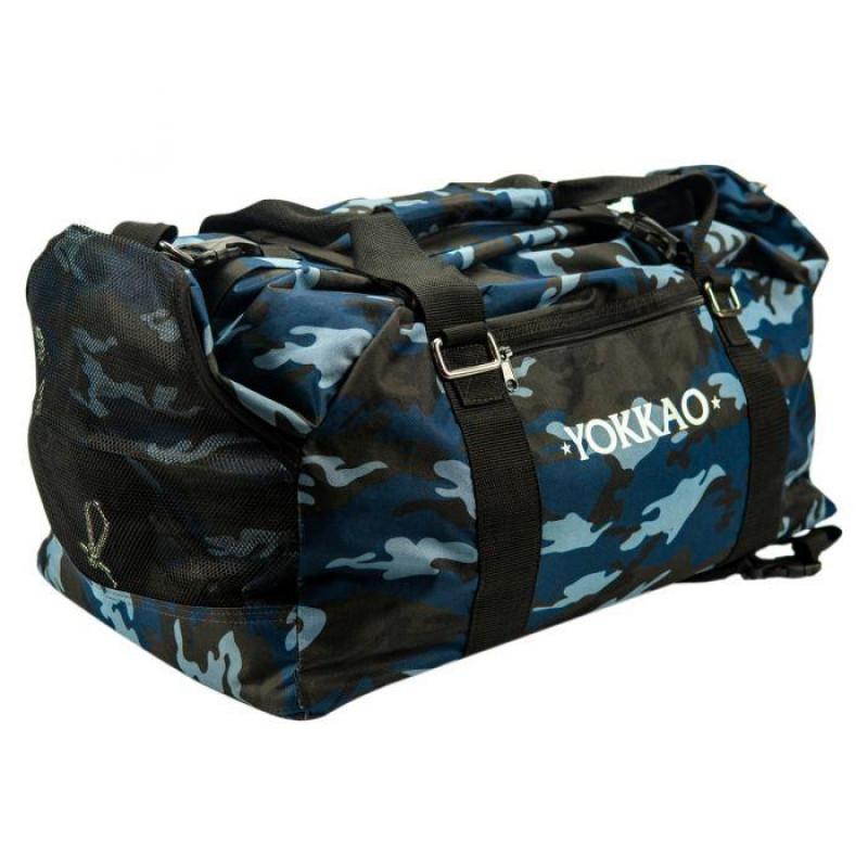 Сумка YOKKAO Gym bag camo blue (01779) фото 1
