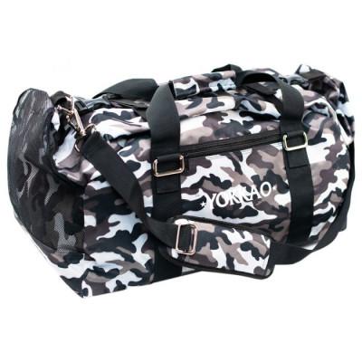 Сумка YOKKAO Gym bag camo grey (01662) фото 1