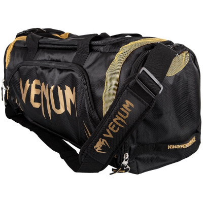 Сумка Venum Trainer Lite Sport Bag Black/Gold (01372) фото 1