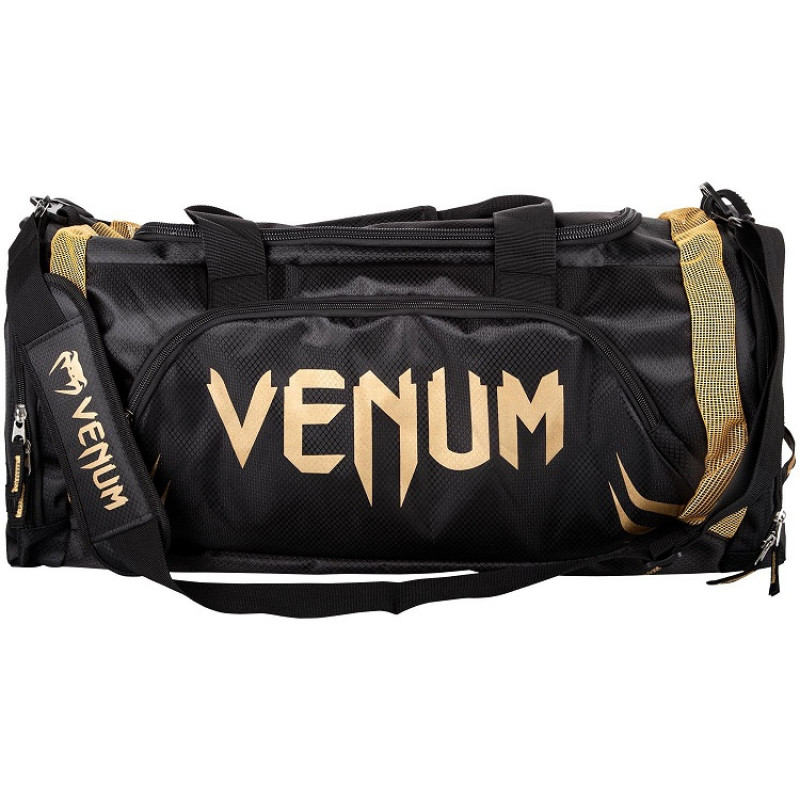 Сумка Venum Trainer Lite Sport Bag Black/Gold (01372) фото 6