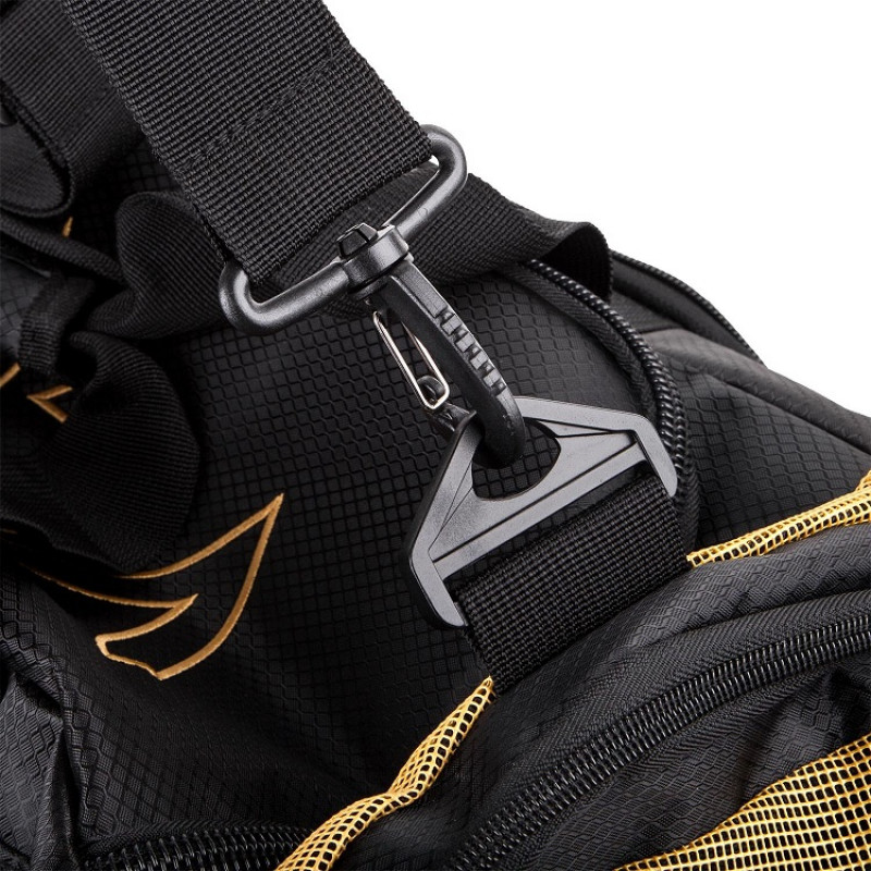 Сумка Venum Trainer Lite Sport Bag Black/Gold (01372) фото 5