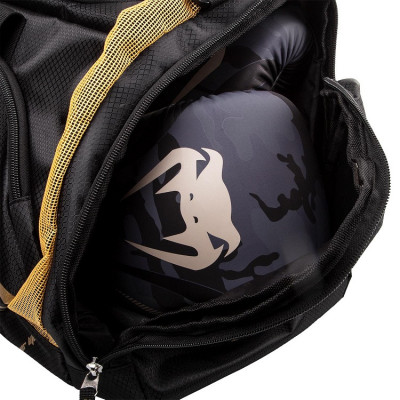 Сумка Venum Trainer Lite Sport Bag Black/Gold (01372) фото 2