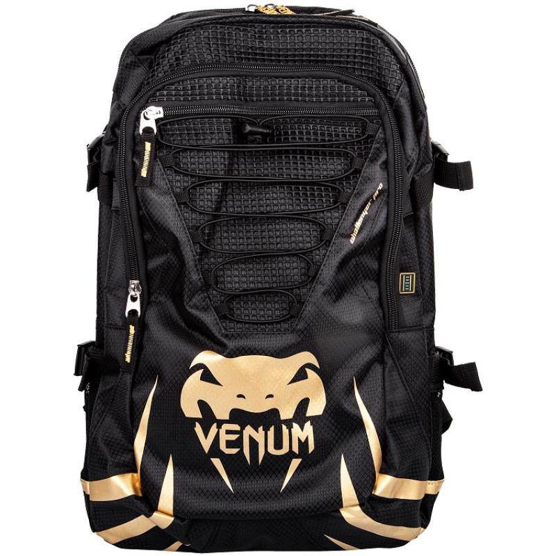 Рюкзак Venum Challenger Pro Backpack Black/Gold (01568) фото 1