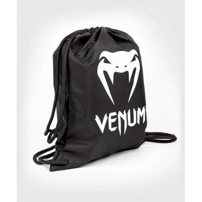 Сумка Venum Classic Drawstring Bag Black/White (02165) фото 1