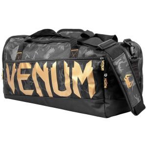 Спортивная Сумка Venum Sparring Sport Bag Темный камуфляж/Золото