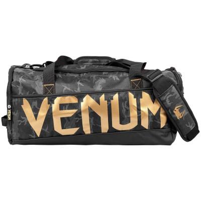 Спортивна Сумка Venum Sparring Sport Bag Темний камуфляж/Золото (01869) фото 2