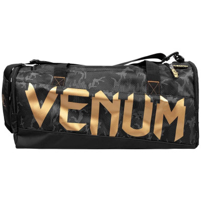Спортивна Сумка Venum Sparring Sport Bag Темний камуфляж/Золото (01869) фото 3