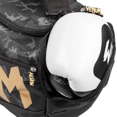 Спортивна Сумка Venum Sparring Sport Bag Темний камуфляж/Золото (01869) фото 4