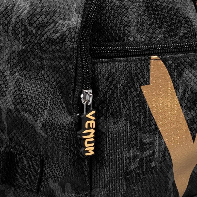 Спортивна Сумка Venum Sparring Sport Bag Темний камуфляж/Золото (01869) фото 7