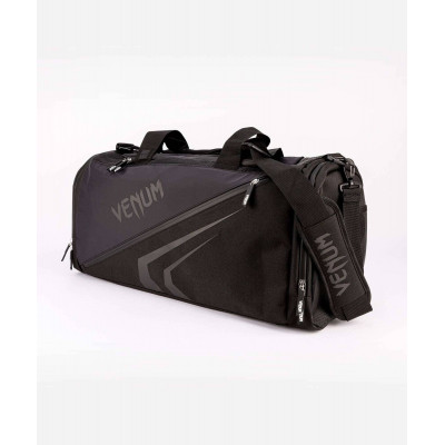 Спортивна сумка Venum Trainer Lite Evo Sports Black/Black (01983) фото 1