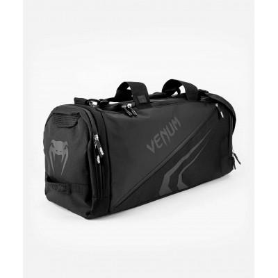 Спортивна сумка Venum Trainer Lite Evo Sports Black/Black (01983) фото 3