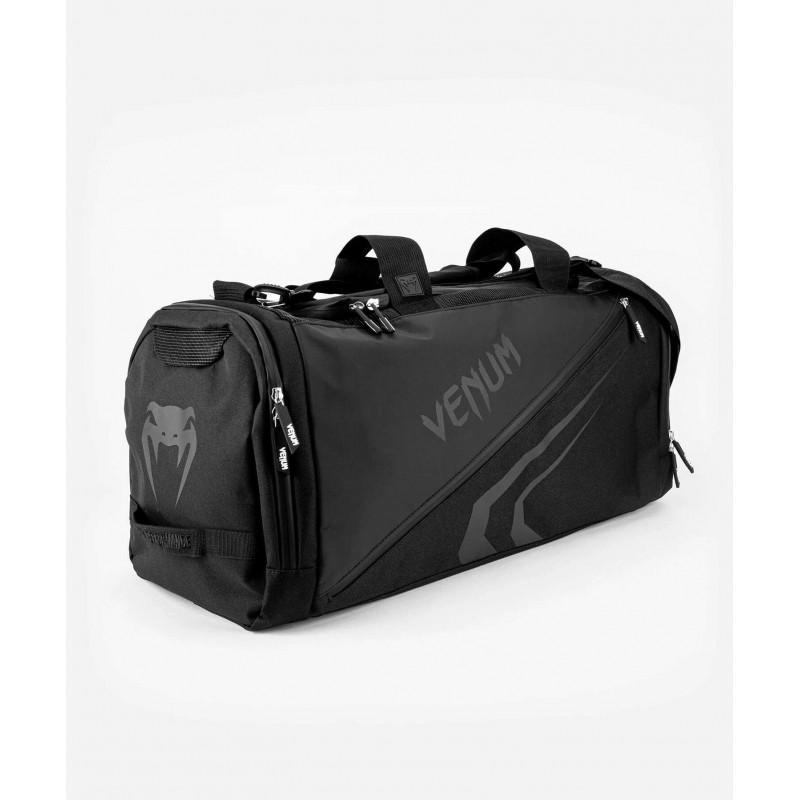 Спортивная сумка Venum Trainer Lite Evo Sports Black/Black (01983) фото 3