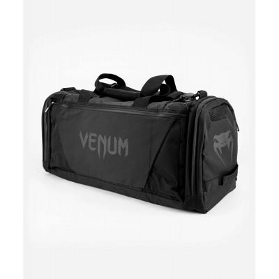 Спортивная сумка Venum Trainer Lite Evo Sports Black/Black (01983) фото 2