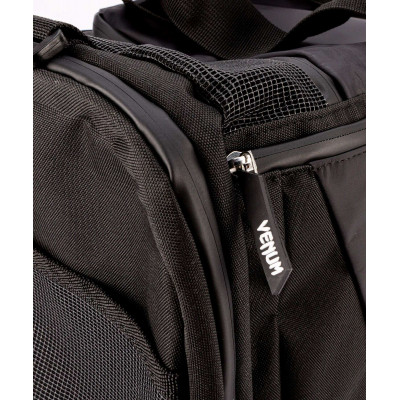 Спортивная сумка Venum Trainer Lite Evo Sports Black/Black (01983) фото 8