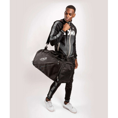 Спортивна сумка Venum Trainer Lite Evo Sports Black/Black (01983) фото 9