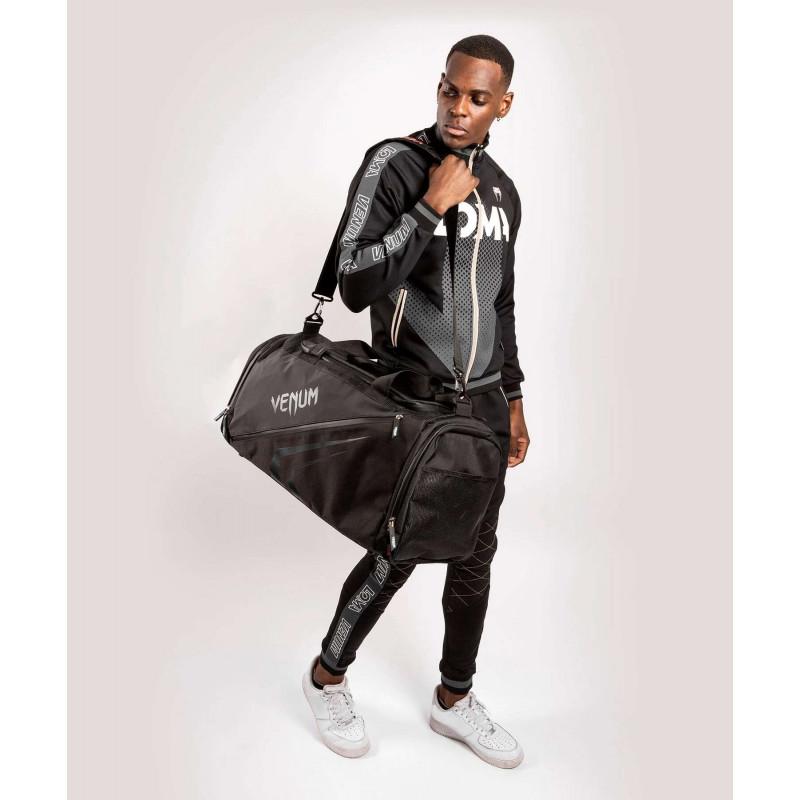 Спортивная сумка Venum Trainer Lite Evo Sports Black/Black (01983) фото 9