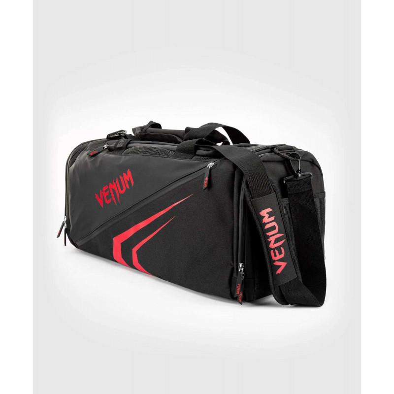 Спортивна сумка Venum Trainer Lite Evo Sports Black/Red (01984) фото 1