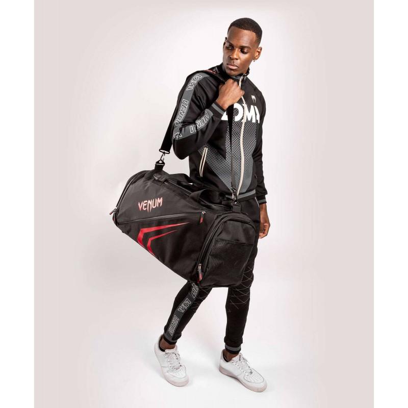 Спортивна сумка Venum Trainer Lite Evo Sports Black/Red (01984) фото 10