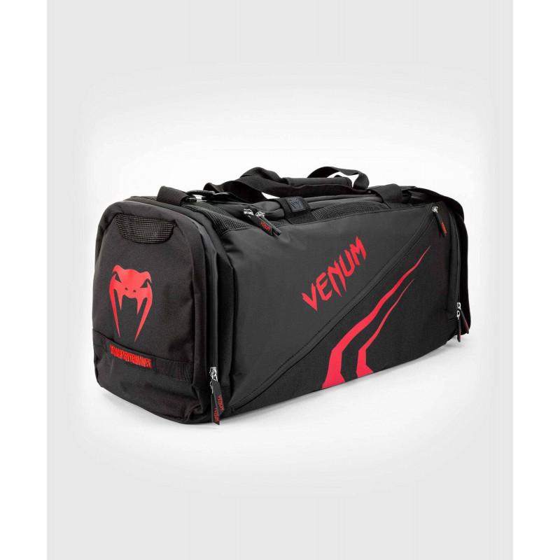 Спортивна сумка Venum Trainer Lite Evo Sports Black/Red (01984) фото 4