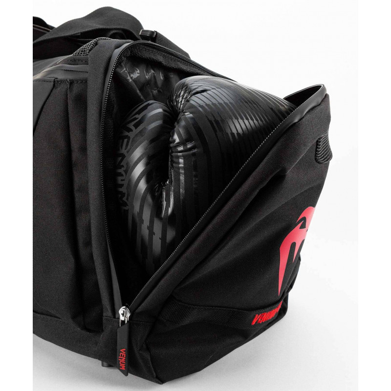 Спортивна сумка Venum Trainer Lite Evo Sports Black/Red (01984) фото 8