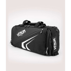 Спортивная сумка Venum Trainer Lite Evo Sports Black/White