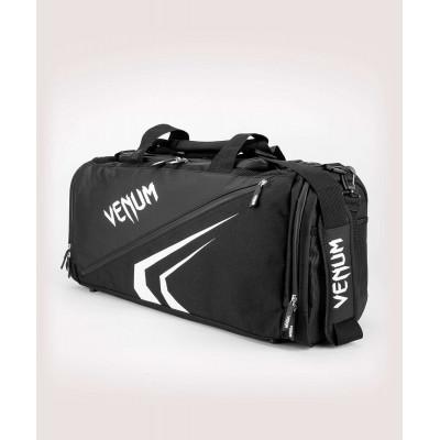 Спортивна сумка Venum Trainer Lite Evo Sports Black/White (01982) фото 1