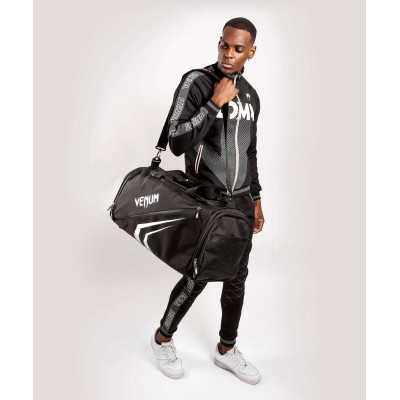 Спортивна сумка Venum Trainer Lite Evo Sports Black/White (01982) фото 10