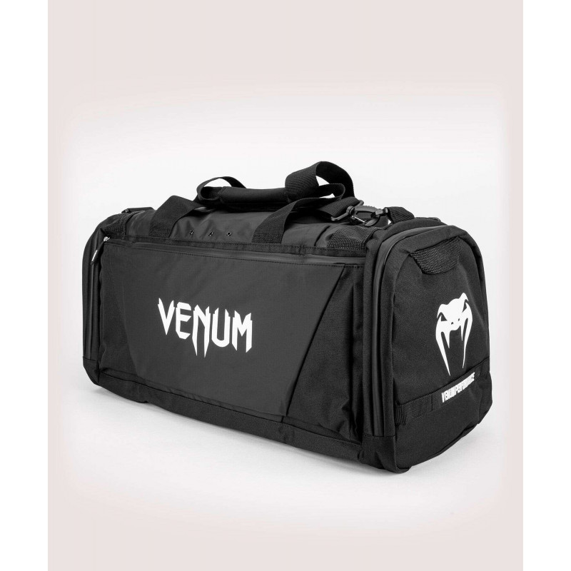 Спортивна сумка Venum Trainer Lite Evo Sports Black/White (01982) фото 4