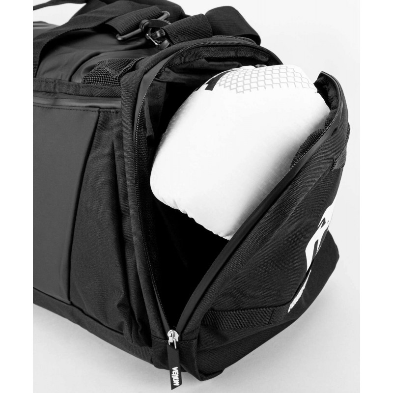Спортивна сумка Venum Trainer Lite Evo Sports Black/White (01982) фото 9