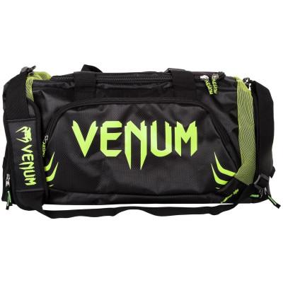 Спортивная Сумка Venum Trainer Lite Sports Bag Черная/Нео желтый (01868) фото 2