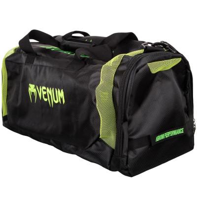 Спортивная Сумка Venum Trainer Lite Sports Bag Черная/Нео желтый (01868) фото 3