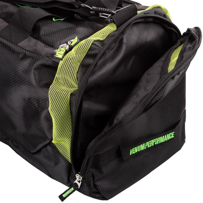 Спортивная Сумка Venum Trainer Lite Sports Bag Черная/Нео желтый (01868) фото 4