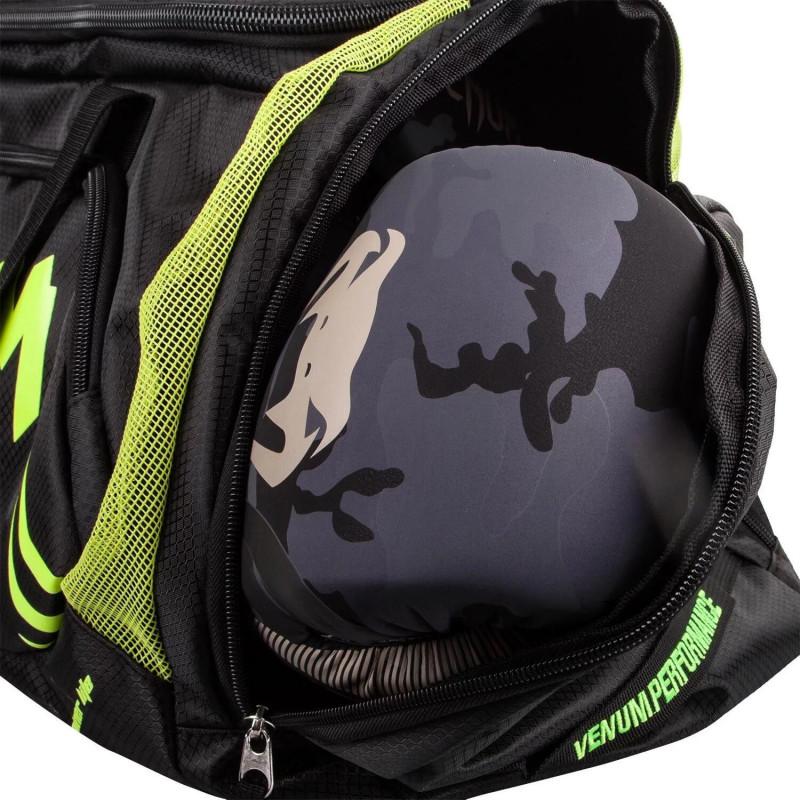 Спортивная Сумка Venum Trainer Lite Sports Bag Черная/Нео желтый (01868) фото 5