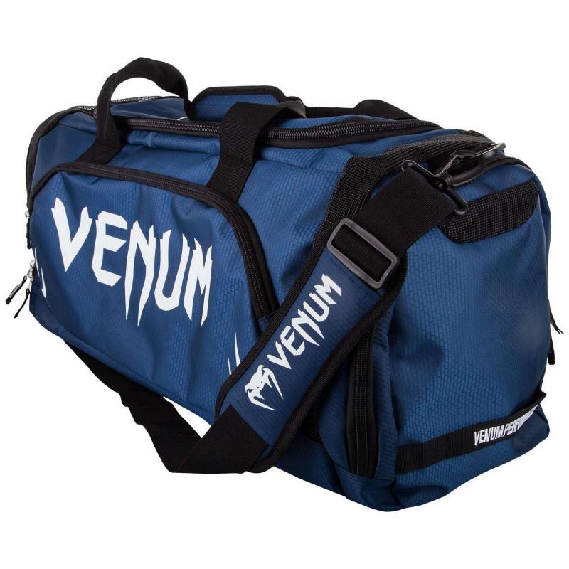 Спортивна Сумка Venum Trainer Lite Sports Bag Темно-синій/Білий (01866) фото 1