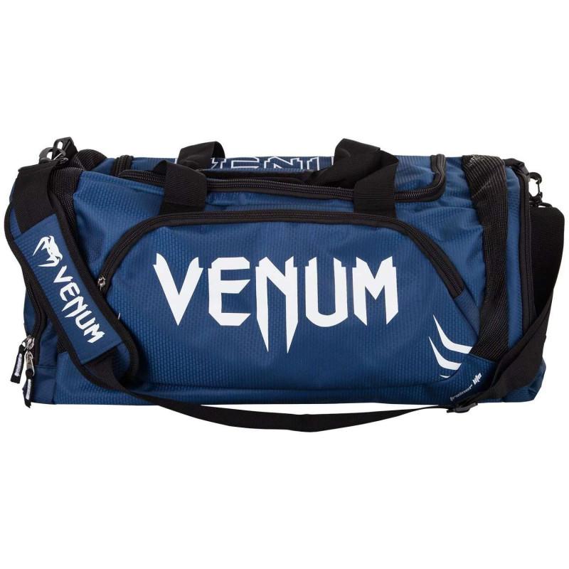 Спортивна Сумка Venum Trainer Lite Sports Bag Темно-синій/Білий (01866) фото 2