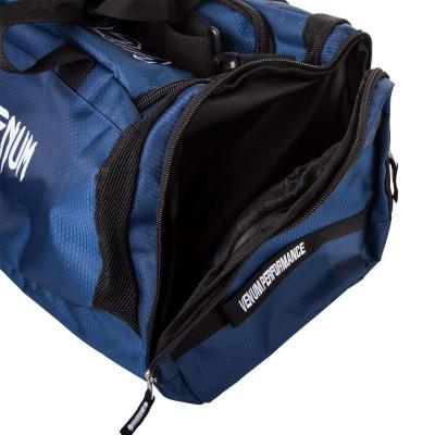 Спортивна Сумка Venum Trainer Lite Sports Bag Темно-синій/Білий (01866) фото 4