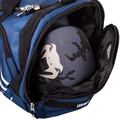 Спортивна Сумка Venum Trainer Lite Sports Bag Темно-синій/Білий (01866) фото 5
