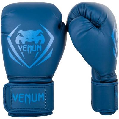 Боксерські рукавиці Venum Contender Boxing blue (01491) фото 1