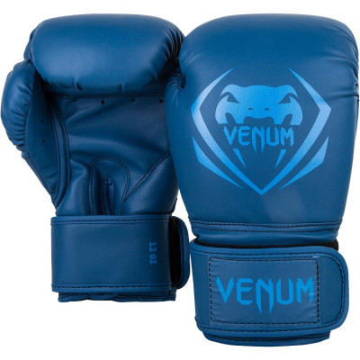 Боксерські рукавиці Venum Contender Boxing blue (01491) фото 2