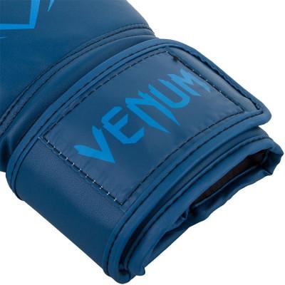 Боксерські рукавиці Venum Contender Boxing blue (01491) фото 3
