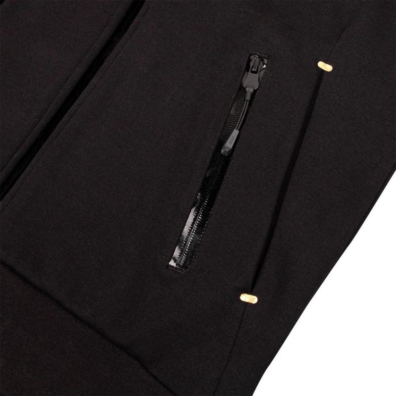 Толстовка Venum Laser Evo з Каптуром Чорний/Золотистий (01811) фото 7