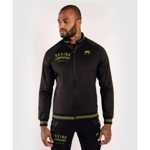 Олимпийка Venum Boxing Lab Track Jacket Black/Green