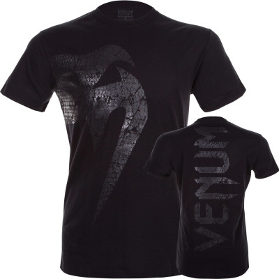 Футболка Venum Giant T-shirt Matte/Black (01717) фото 7