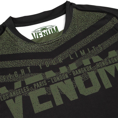 Футболка Venum Signature Dry Tech T-shirt B/Khaki (01736) фото 5