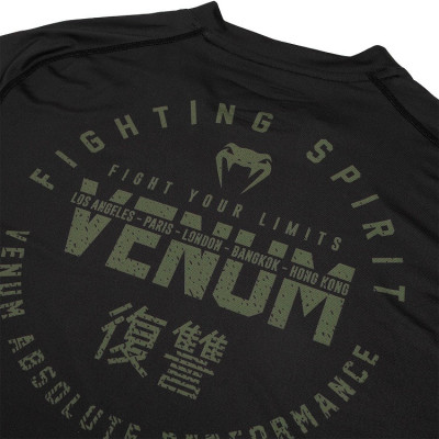 Футболка Venum Signature Dry Tech T-shirt B/Khaki (01736) фото 6