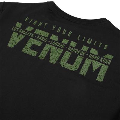 Футболка Venum Signature T-shirt Black/Khaki (01746) фото 6
