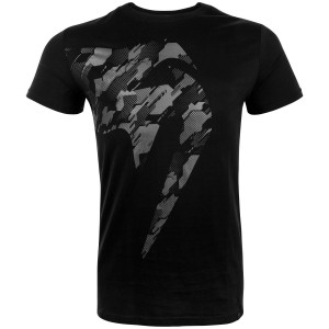 Футболка Venum Tecmo Giant T-shirt  Black/Grey