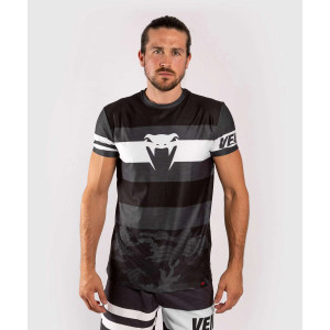 Футболка Venum Bandit Dry Tech T-shirt Black/Grey
